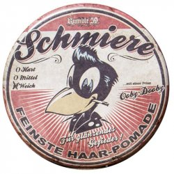 Schmiere - Pomade brilliance/ light - pomáda so slabou fixáciou (019), 140ml